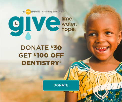 Donate $30, Get $100 Off Dentistry - Atascocita Modern Dentistry and Orthodontics